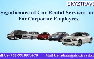 Significance of Car Rental Services for Corporate Employees